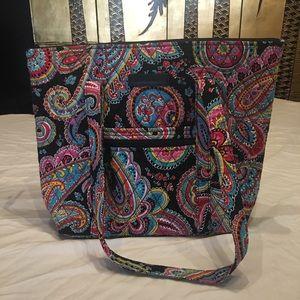Vera Bradley Classic Parisian Paisley handbag